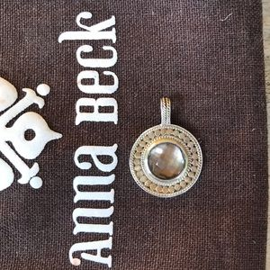 🎉HP🎉Anna Beck 18k gold plated sterling pendant